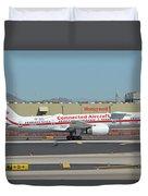 Honeywell Boeing 757-225 N757hw Phoenix Sky Harbor September 30 2017 Duvet Cover