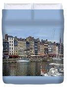 Honfleur - France Duvet Cover