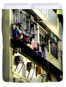 Hong Kong Apartment 8 Duvet Cover