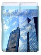 Hong Kong Architecture 58 Duvet Cover