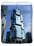 Hong Kong Architecture 73 Duvet Cover