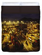 Hong Kong Container Terminal, One Duvet Cover