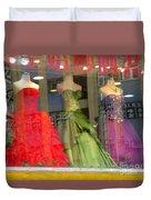 Hong Kong Dress Shop Duvet Cover