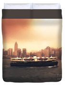 Hong Kong Harbour 01 Duvet Cover