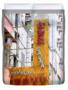 Hong Kong Sign 11 Duvet Cover