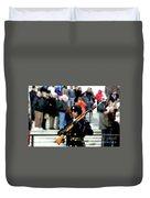Honor Guard At Arlington Cemetery Duvet Cover