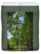 Honor On The University Of South Carolina Campus Duvet Cover
