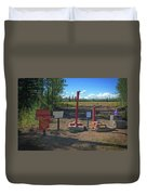 Honor System Duvet Cover