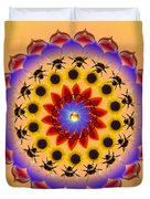 Honor The Bees Duvet Cover
