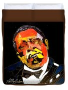Honoring The King 1925-2015 Duvet Cover