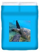 Honu Hello Duvet Cover