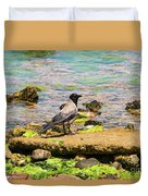 Hooded Crow Duvet Cover