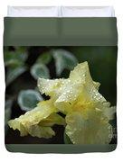 Hooded Iris Duvet Cover
