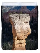 Hoodoo In Bryce Canyon Duvet Cover