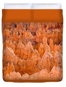 Hoodoos And Other Eroded Cliffs Light Duvet Cover