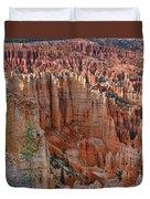 Hoodoos Bryce Canyon-utah Duvet Cover