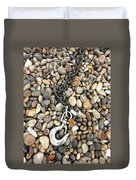 Hook, Chain And Pebbles Duvet Cover