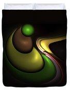 Hookah Smoking Caterpillar  Duvet Cover