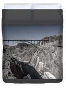 Hoover Dam Bridge Duvet Cover