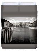 Hoover Dam Intake Towers #2 Duvet Cover