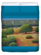 Hoover Tower In Sight Duvet Cover