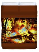 Hope Above Broken Skies Duvet Cover
