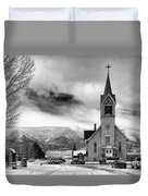Hope Evangelical Lutheran Church Duvet Cover