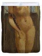 Hope In Prison 1862 Duvet Cover