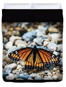 Hope Of The Monarch Butterfly Duvet Cover