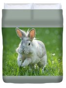 Hopping Rabbit Duvet Cover