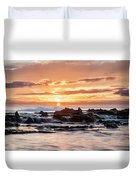 Horizon In Paradise Duvet Cover