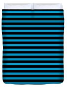 Horizontal Black Outside Stripes 18-p0169 Duvet Cover