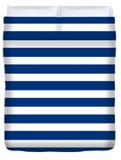 Horizontal White Inside Stripes 09-p0169 Duvet Cover