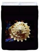 Horned Helmet Shell Top Logarithmic Spiral Duvet Cover