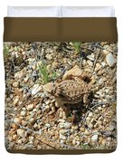 Horned Lizard Duvet Cover