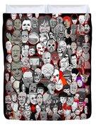 Horror Icons Duvet Cover