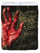 Horror Resurrection Duvet Cover