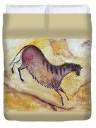 Horse A La Altamira Duvet Cover