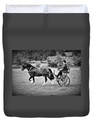 Horse And Cart Duvet Cover