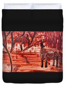 Horse And Tree Duvet Cover