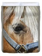 Horse Close Up Duvet Cover