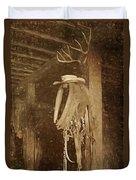 Horse Collar - Hat Duvet Cover
