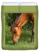 Horse Cuisine  Duvet Cover