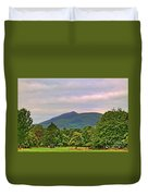 Horse Drawn Carriage At Muckross House Duvet Cover