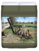 Horse Drawn Sickle Mower Duvet Cover