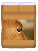 Horse Eye Duvet Cover