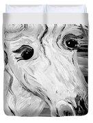 Horse Eyes Duvet Cover