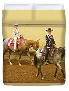 Horse Girls Duvet Cover