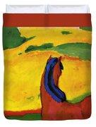 Horse In A Landscape 1910 Duvet Cover