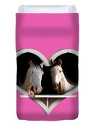 Horse Lovers Duvet Cover